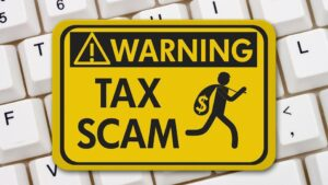 Tax Scam Image